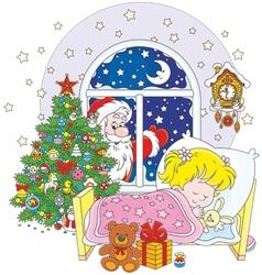 Christmas gifts vector