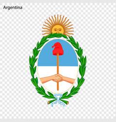 Emblem of argentina vector