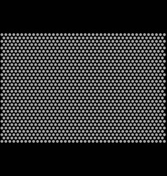 honeycomb monochrome pattern vector image