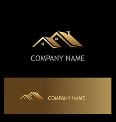 House rogold company logo vector