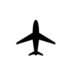 plane or aircraft glyph icon vector image