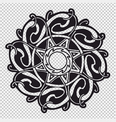 the celtic mandala vector image