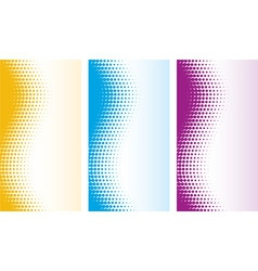 Vector abstract halftone backgrounds vector