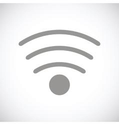 Wi-fi black icon vector