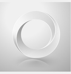 Impossible circle sign vector