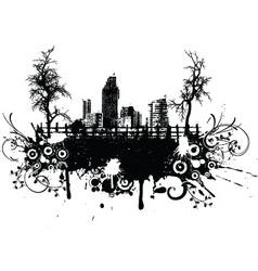 rural grunge vector image vector image