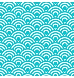 seamless pattern Japanese vector image