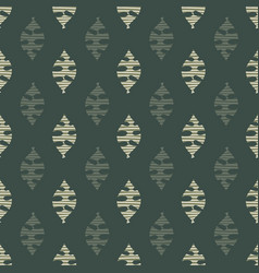 abstract leaves seamless background green vector image