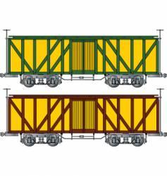 box car vector image