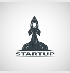 Business startup icon vector