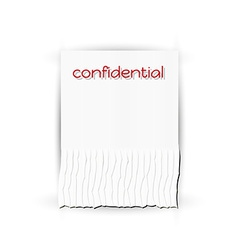 Confidential paper vector