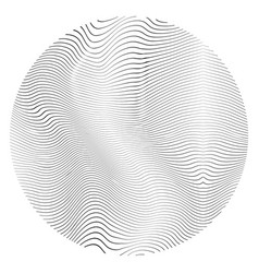 Distress circular texture vector