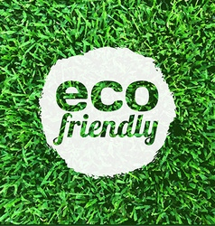 Eco Friendly Banner vector
