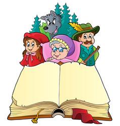 fairy tale theme image 3 vector image