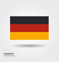 germany flag germany flag vector image