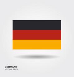 germany flag germany flag vector image