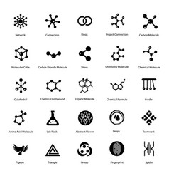 Sign and symbols solid pack vector