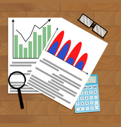 Calculate business growth forecast vector