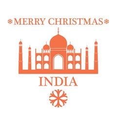 Greeting Card India vector image