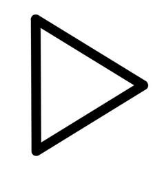 next play icon vector image