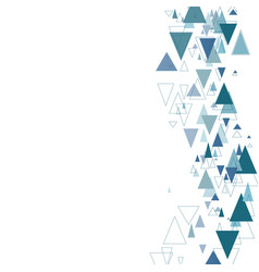 Modern geometric background vector