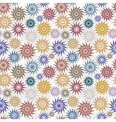 Native style background vector image vector image