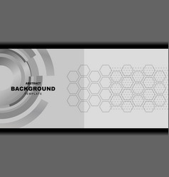 Abstract grey background design vector
