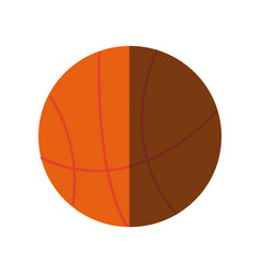 Basketball ball sport equipment supply icon vector
