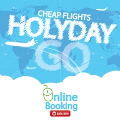 Cheap Flight For Sale Banner vector image