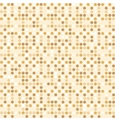 Digital point light brown seamless background vector image