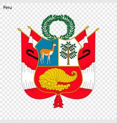 Emblem peru vector