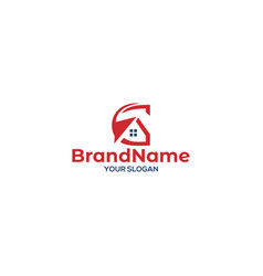G house logo design vector