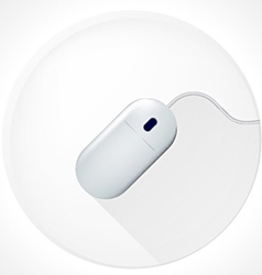 icon for blog Computer mouse vector image