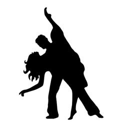 Pair latino dance vector