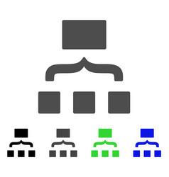Scheme flat icon vector