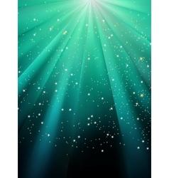 Star light sparkles background vector