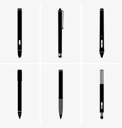 stylus pen vector image