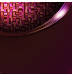 absract mosic background in frame vector image