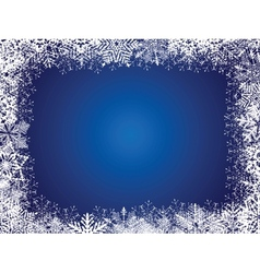 Holiday Blue Background vector image vector image