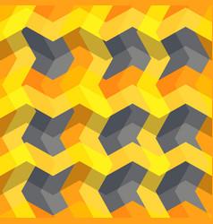 abstract geometric seamless pattern modern art vector image