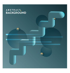 abstract line background with grey background vector image
