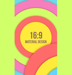 Background unusual modern material design vector