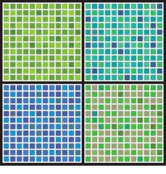 Cool Color Set Graphic Background vector image