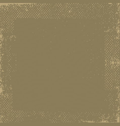 dark brown grunge vintage old paper background vector image