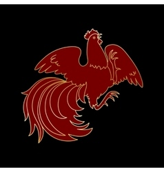 Fire Rooster 2017 vector