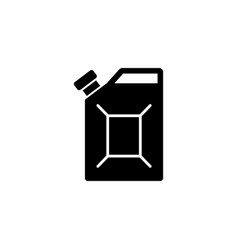 fuel canister flat icon vector image