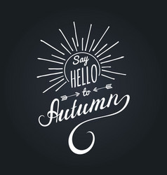 Hand lettering inspirational typography vector