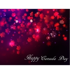 Happy Canada Day background vector