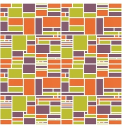 Seamles Geometric Abstract Colorful Pattern vector image