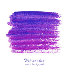 violet purple lilac grunge watercolor vector image